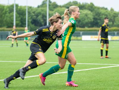 Knappe comeback ADO Den Haag Vrouwen in pittig oefenpotje