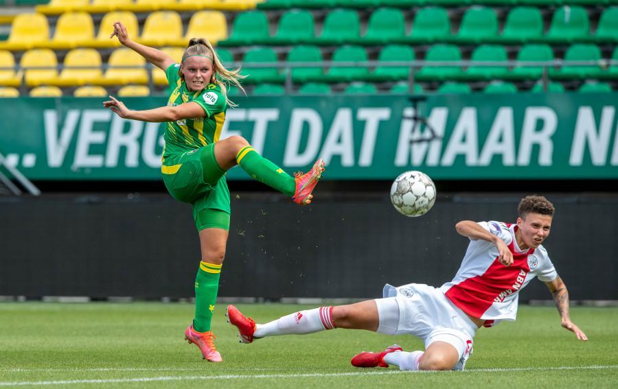 Veerkrachtig ADO Den Haag Vrouwen deelt punten met Ajax