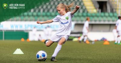 ADO Den Haag Vrouwen Voetbalkampen in de herfstvakantie!