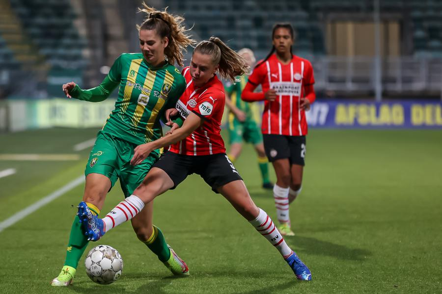 ADO Den Haag Vrouwen breekt de ban tegen PSV